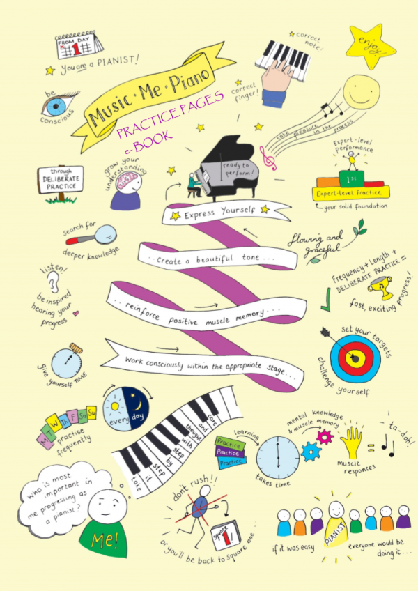 Music Me Piano - Practice Pages